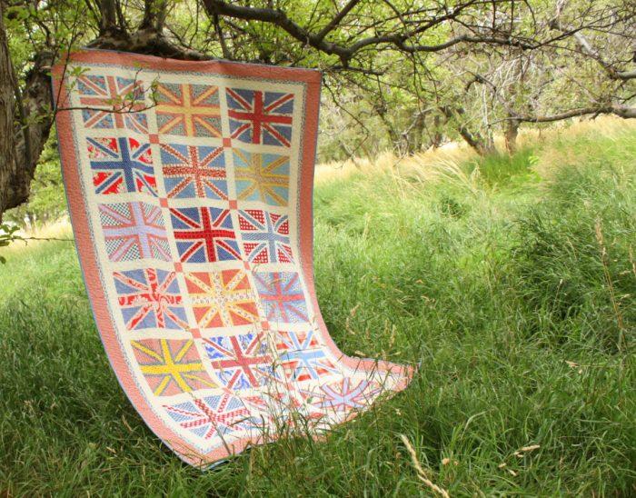Union Jack Flag quilt