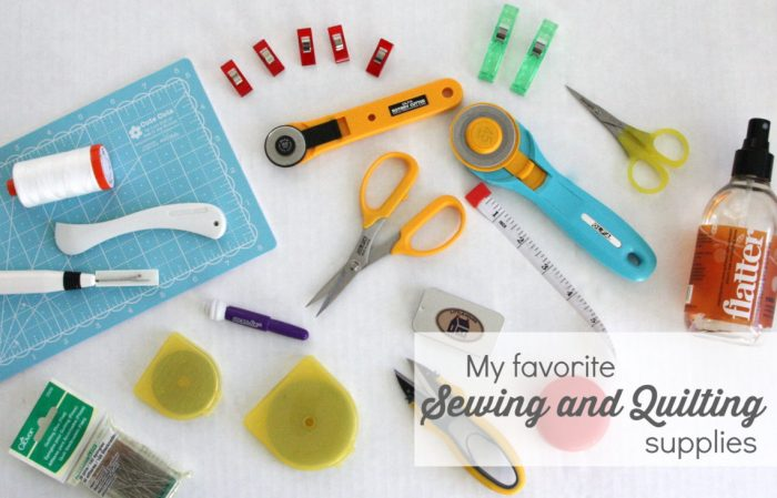 Sewing and quilting supplies featured by top US quilting blog, Diary of a Quilter