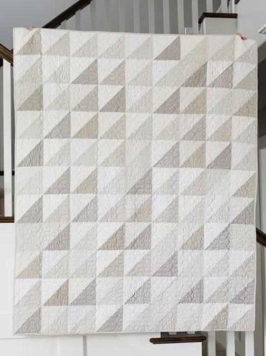 Modern Neutral Quilt