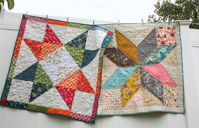 Easy DIY Modern Star Baby Quilt Tutorial Beauteous 5 Point Star Quilt Pattern