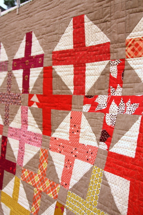 Amy Smart Hopscotch quilting