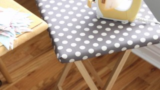 Make your own mini Pressing Table