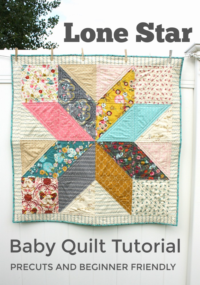 photo relating to Baby Quilt Patterns Free Printable titled Basic Do it yourself Revolutionary Star Child Quilt Manual Quilting Dairy