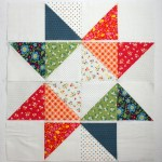 star baby quilt tutorial featured by top US quilting blog, Diary of a Quilter