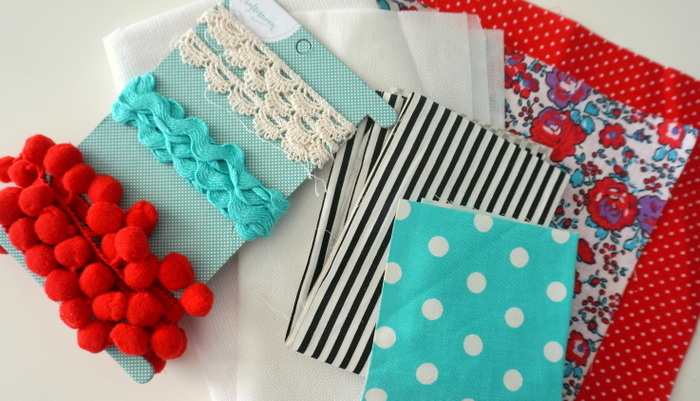 Hazel and Ruby Crafternoon supplies