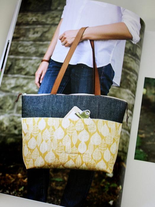 tote bag pattern noodlehead book