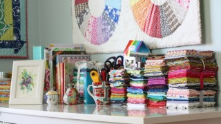 Sewing Room Organization + Quilting Supplies | Diary of a Quilter - a quilt blog