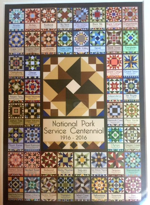 National Park Centennial Quilt Blocks