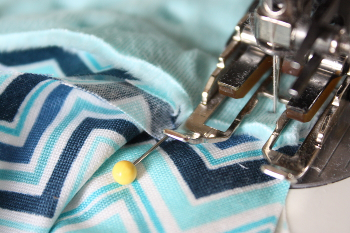 sew sides baby blanet tutorial