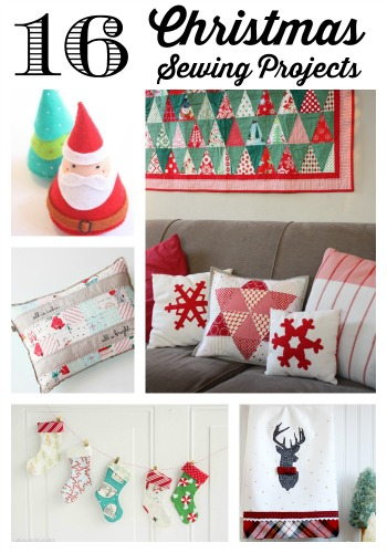 Christmas Sewing Projects | Diary of a Quilter - a quilt blog