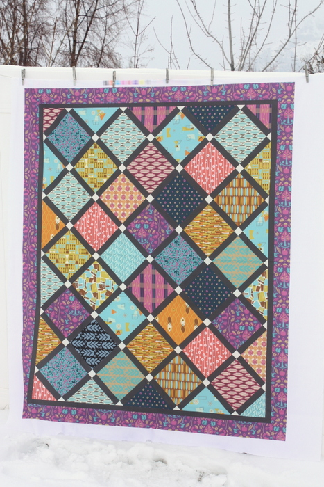 Pattern Jam custom Lattice Quilt