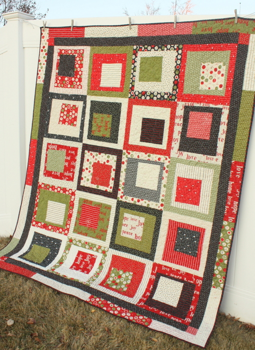 Sweetwater Moda Christmas Quilt