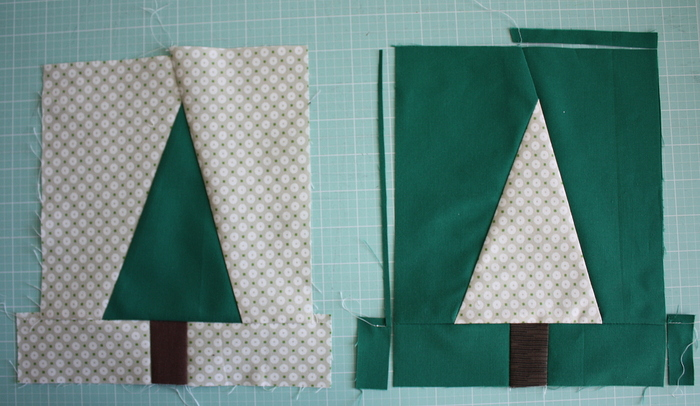Christmas Tree Quilt Block Pattern Tutorial | Diary of a Quilter - a quilt blog