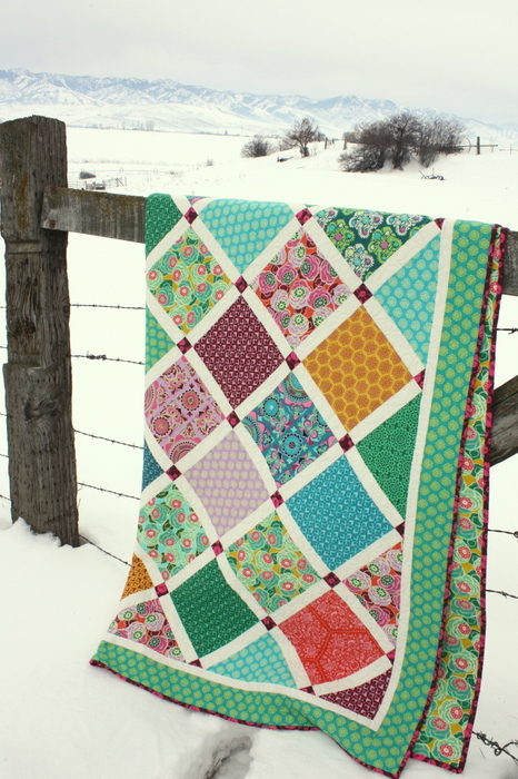 Amy Smart Lattice Quilt