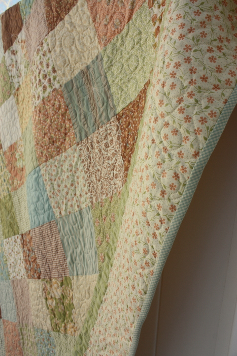 Dandelion Moda Fig Tree quilt