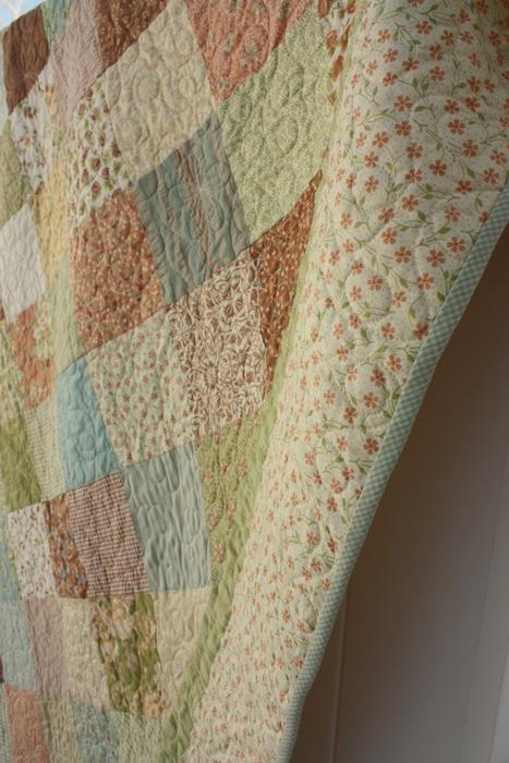 Dandelion Moda Fig Tree quilt