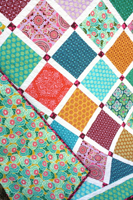 Dream Weaver Lattice Quilt