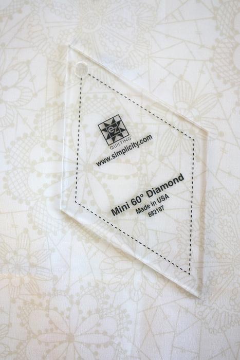 EZ quilt diamond template