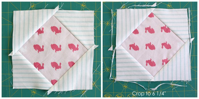 Quilt Block tutorial part 4