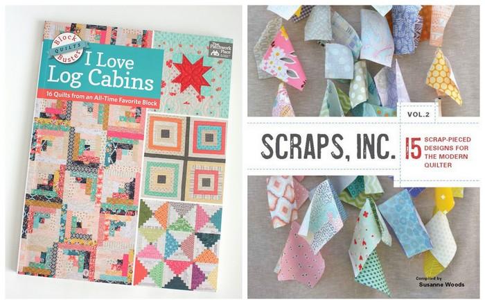 Log Cabin Scrap quilt books