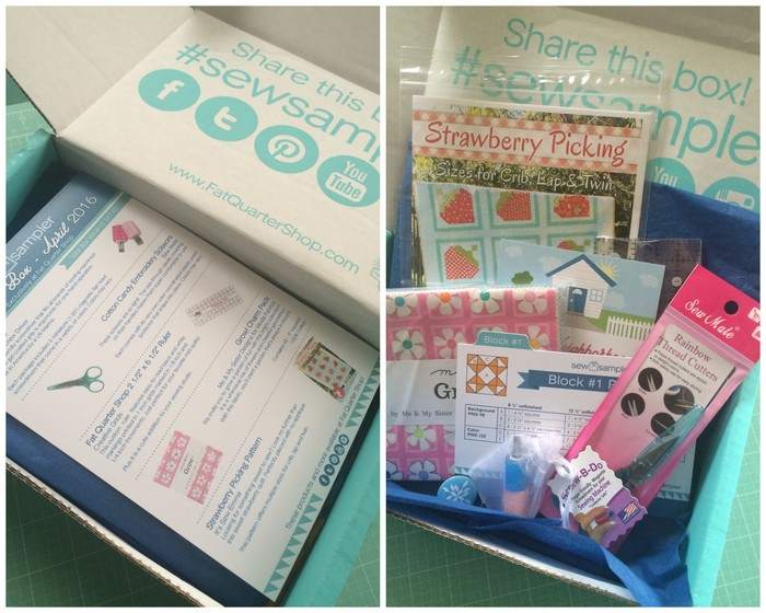 Sew Sample Box - Fat Quarter Shop-002