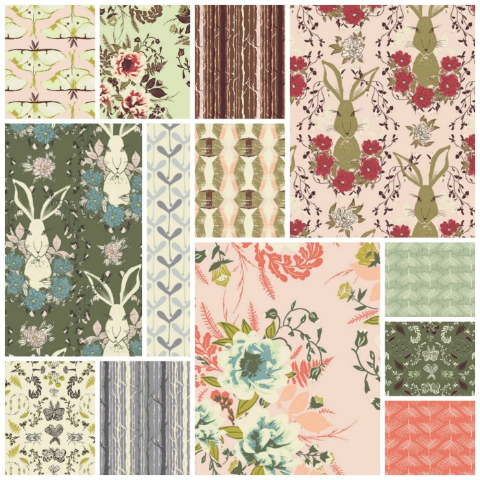 Forest Floor Bonnie Christine Art Gallery Fabrics