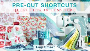 Craftsy Class:  7 precuts quilts on SALE