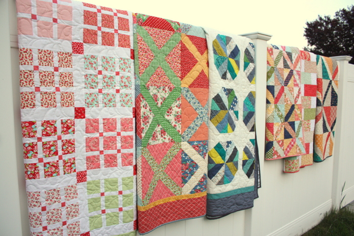 Amy Smart Craftsy Class quilts