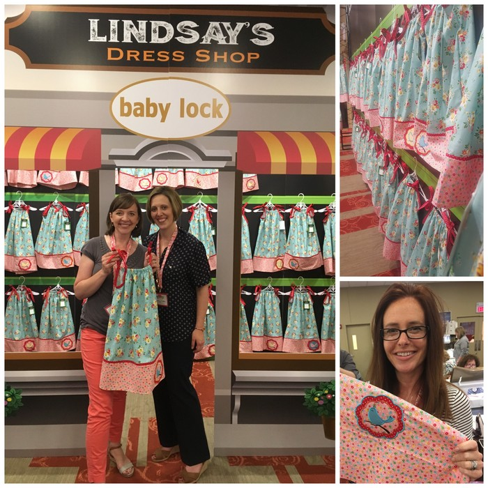 Baby Lock Common Threads 2016 Little Dresses for Africa