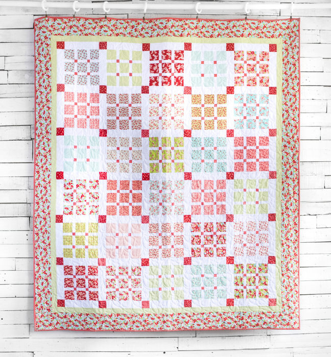 Double Wedding Ring Quilts For Sale 69 Vintage Basketweave Quilt by Amy
