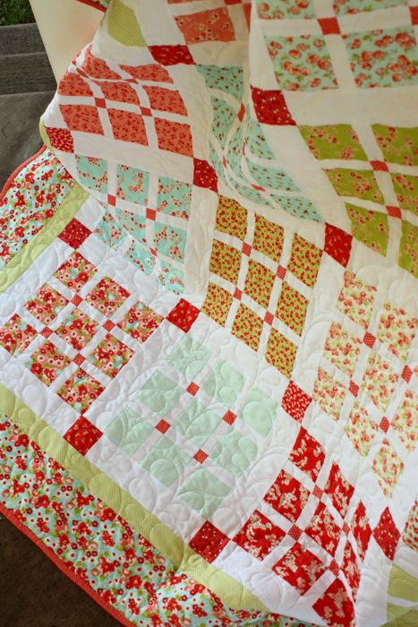Quilting Amy Smart Basket Weave quilt