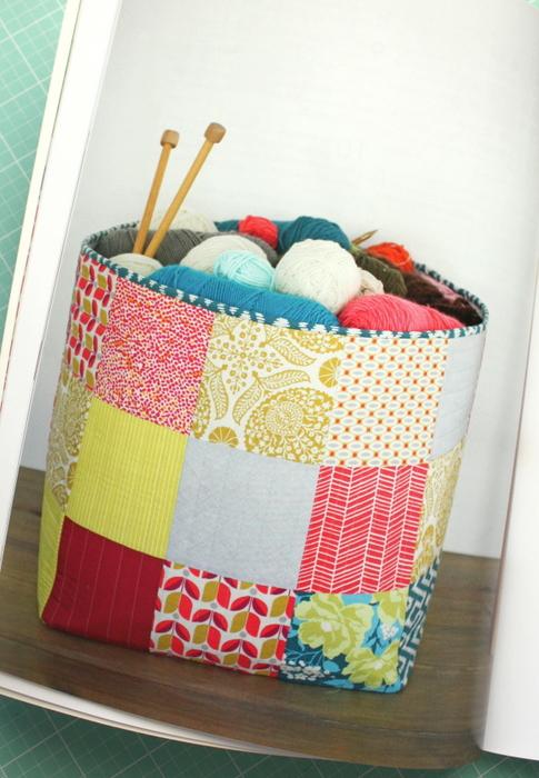 Simple Simon Patchwork Basket