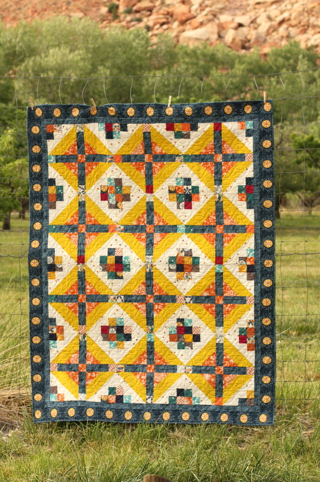 Amy Smart Watchtower Quilt Pattern full
