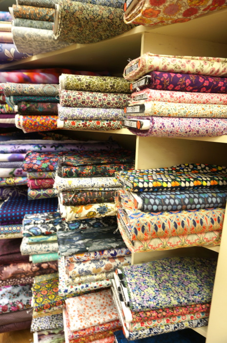 Liberty Fabrics at Britex