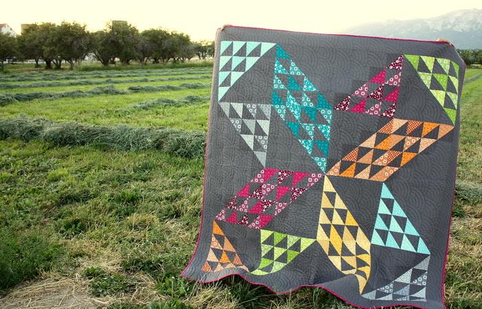 Patchwork Pinwheel Amy Smart