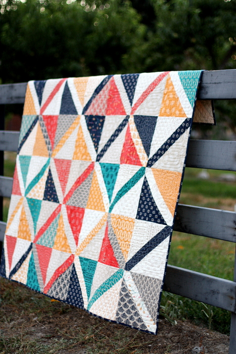 Amy Smart Crossweave Pre-cuts quilt uses a Jelly Roll and Layer Cake