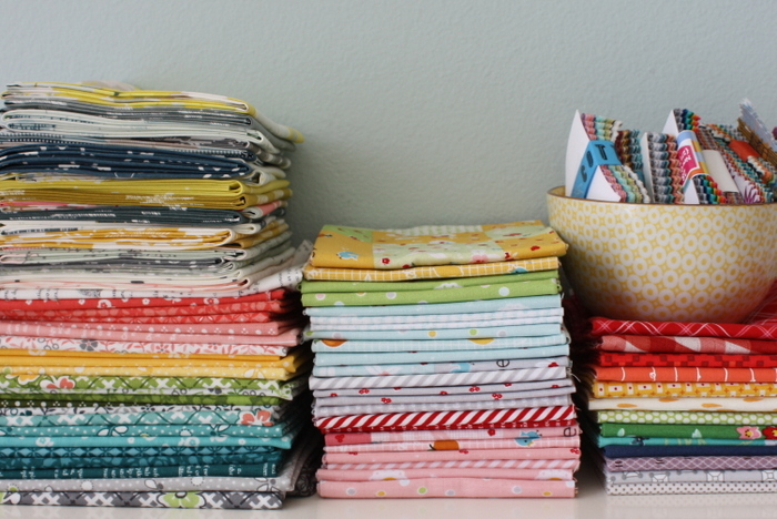 Choosing fabric for a project