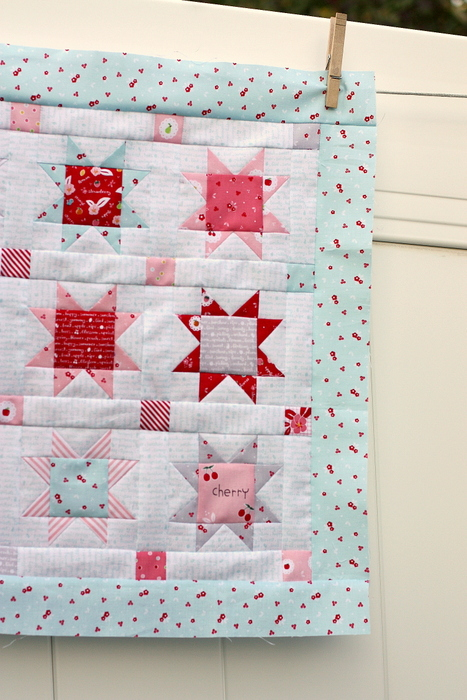Sweet orchard Riley Blake mini Quilt