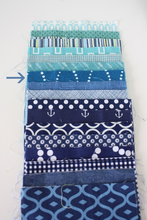 Use a zinger fabric when choosing fabric for a quilt