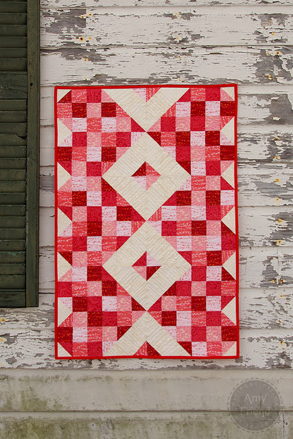 Amy Friend Shades of Love Heart quilt