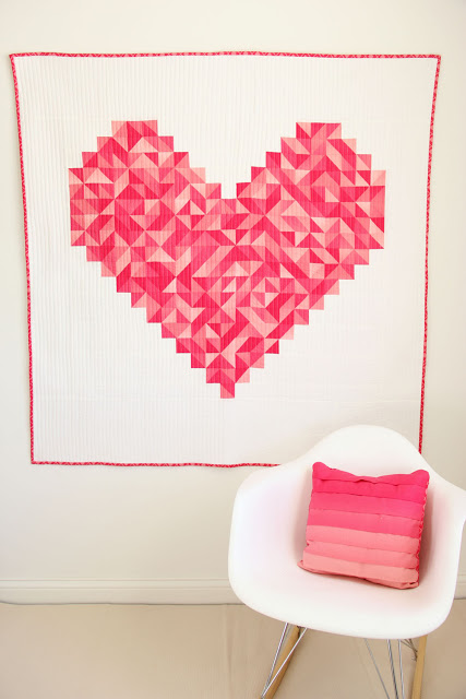 i heart you quilt by Vanessa Christensen