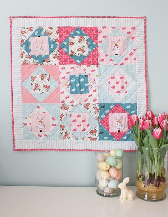 Wonderland Quilt Block tutorial