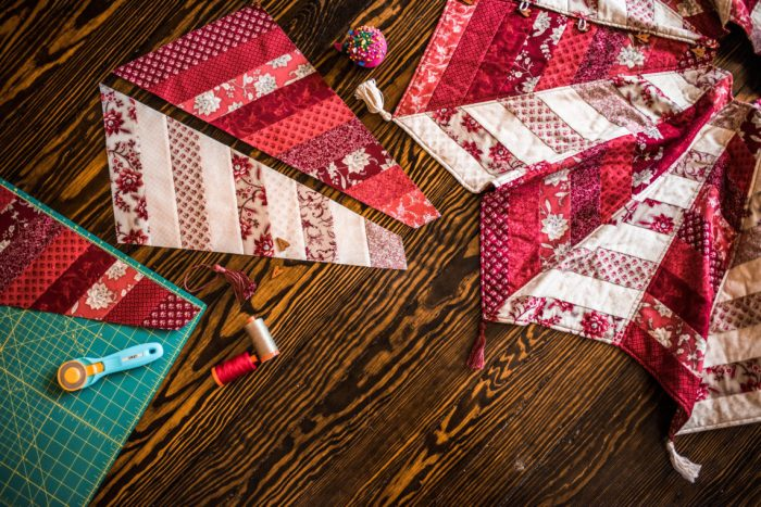 Quilted Tree Skirt Pattern Class