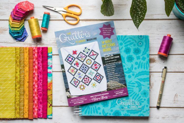 The Quilter's Planner - beautiful planner, calendar, quilt patterns