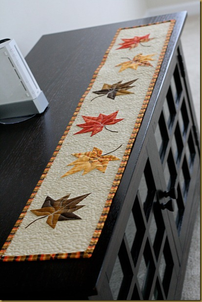 Quilted Fall Tablerunner