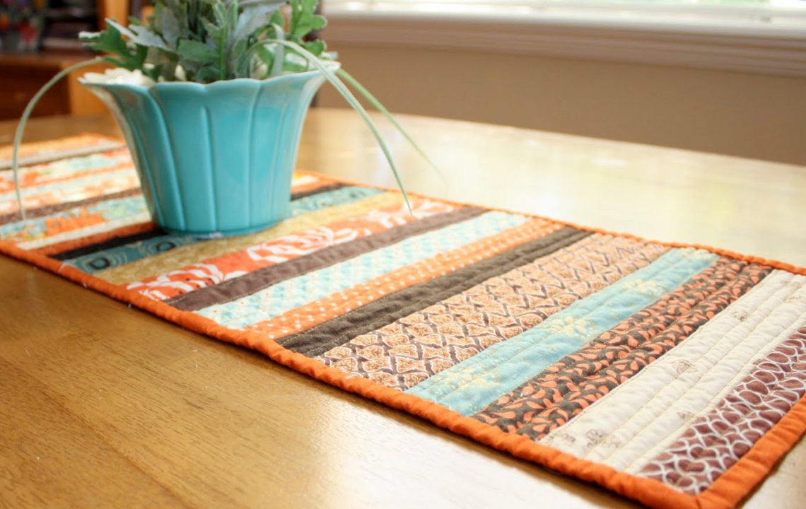 This Quilt As You Go Table Runner Is Still One Of My All Time Favorite  Methods. Itu0027s Perfect For Scraps And Easy To Customize To Any Size You Like!