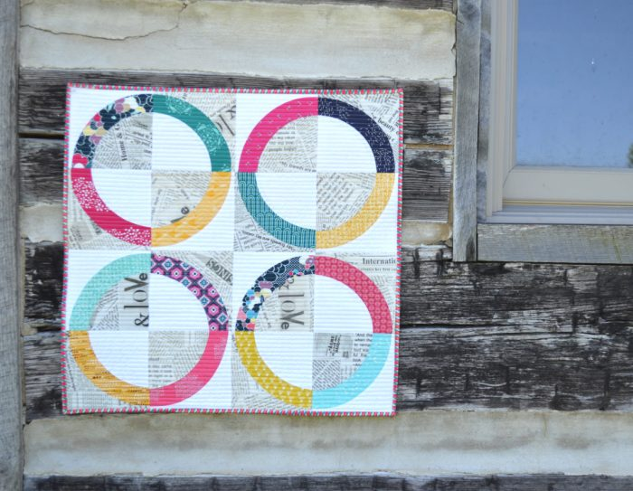 How to sew curved pieces - tips from Sharon McConnell of Color Girl Quilts
