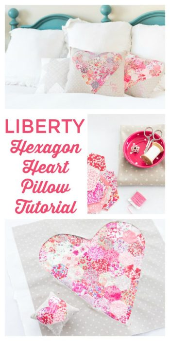 Liberty Heart Pillow Tutorial