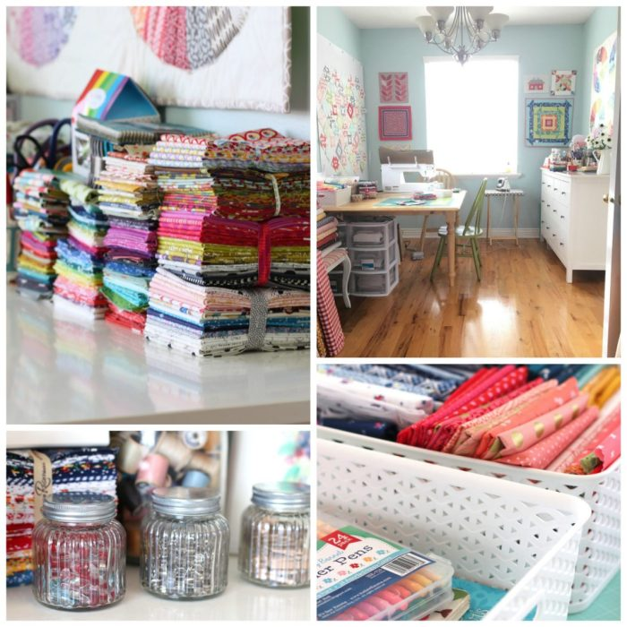 Tips for organizing a sewing room