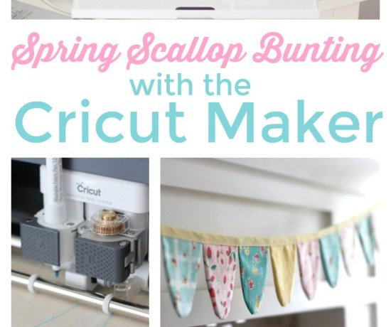 Make a spring bunting with the Cricut Maker